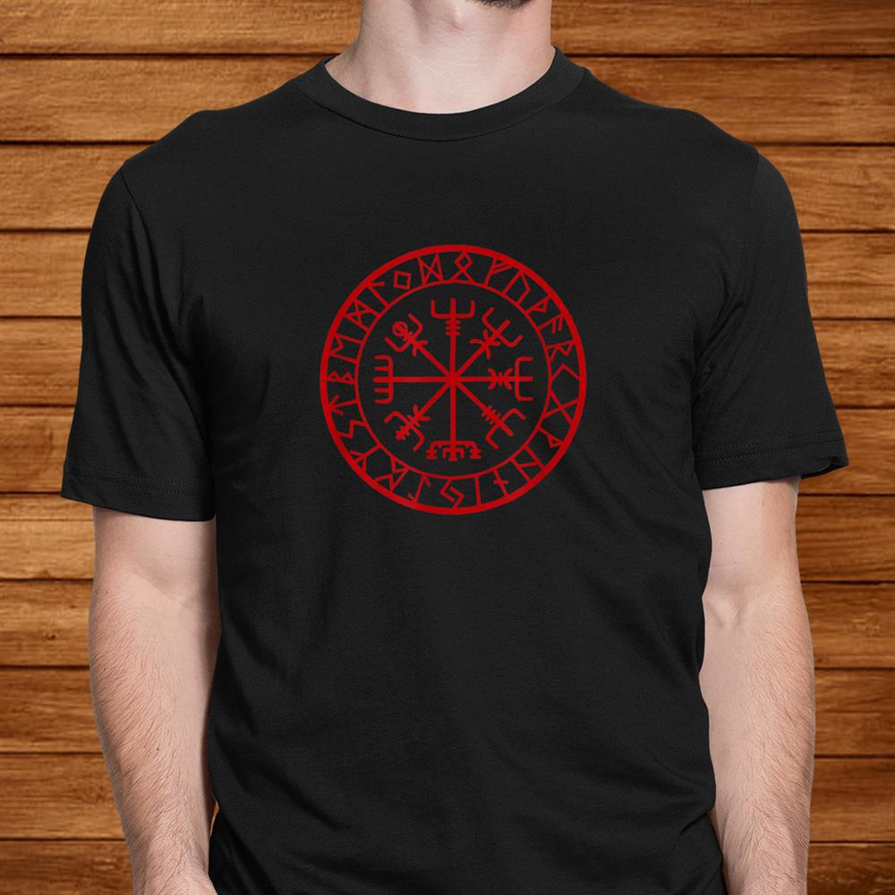 Nordic Compass Viking Shirt Norse Men
