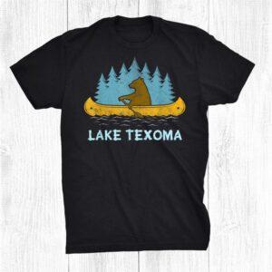 Norris Lake Lake Bear Canoe Outdoor Hiking Camping Retro Shirt