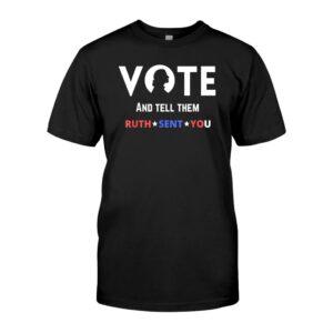 Notorious Rbg Ruth Bader Ginsburg Vote Feminist Shirt