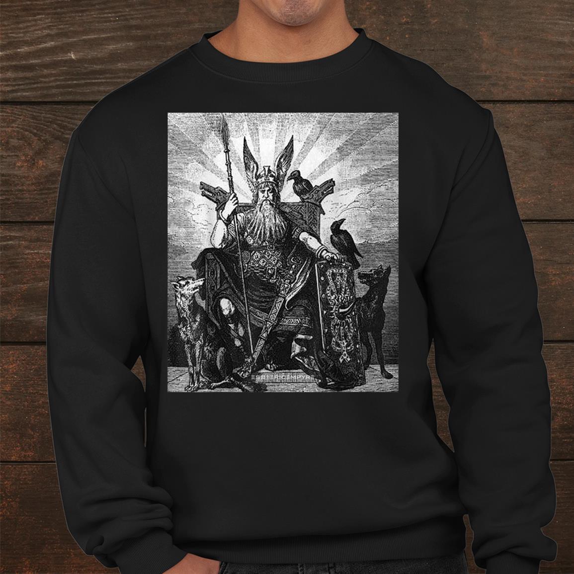 Odin Shirt Viking Norse God All Father Shirt