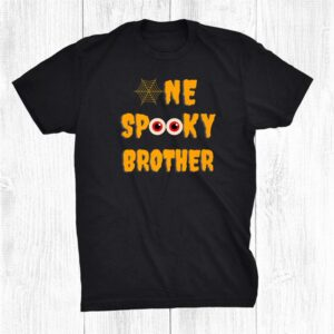 One Spooky Brother Halloween Family Matching Trick Or Treat Shirt