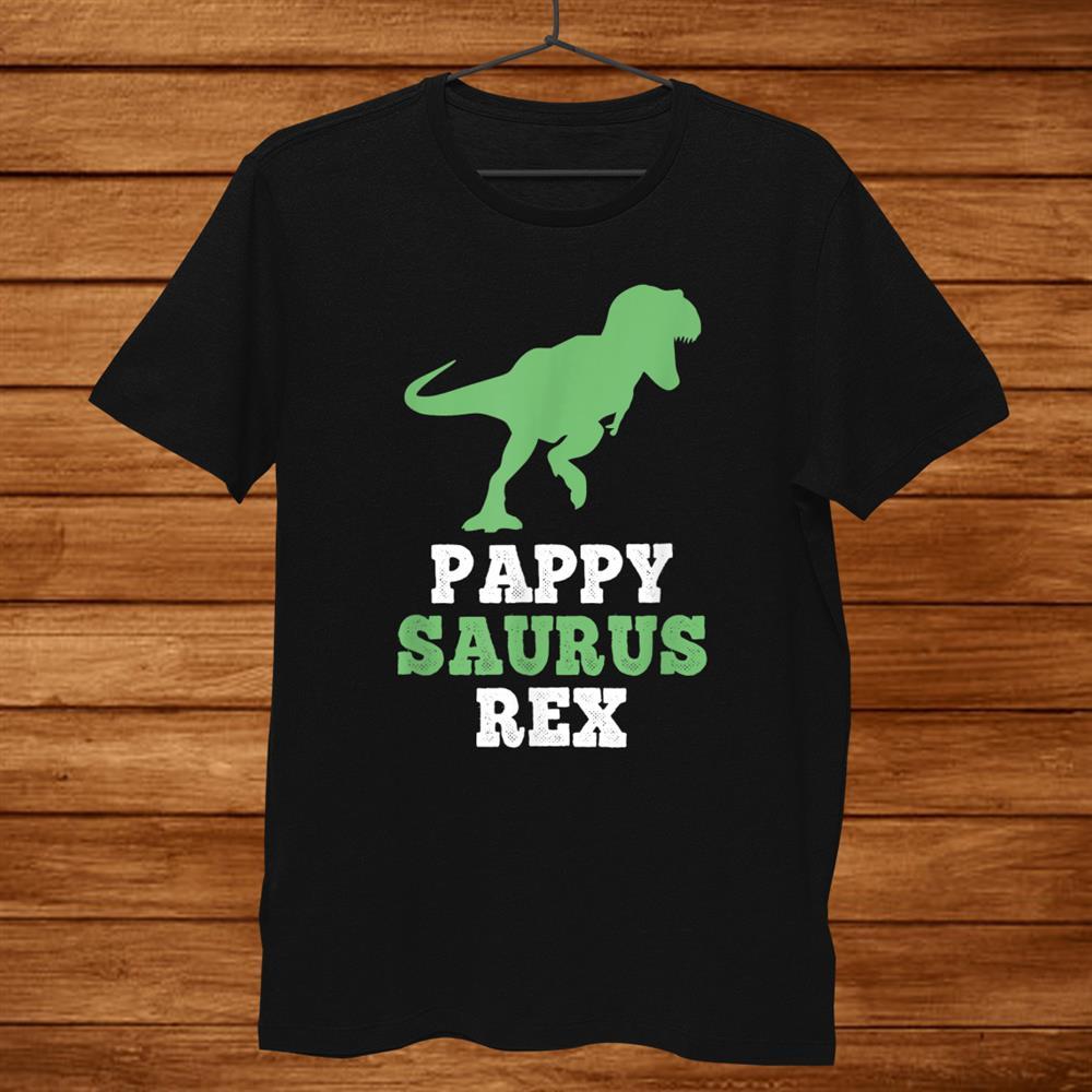 Pappy Saurus Rex Funny Dinosaur Gift Pappysaurus Christmas Shirt