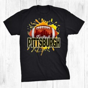 Pittsburgh Football Tee Retro Vintage Pennsylvania Steeler Shirt