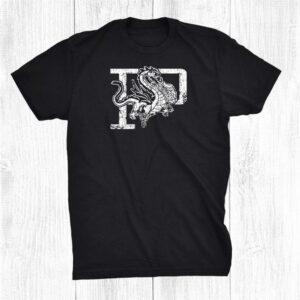 Purcell Dragons Mascot Lettermark Shirt