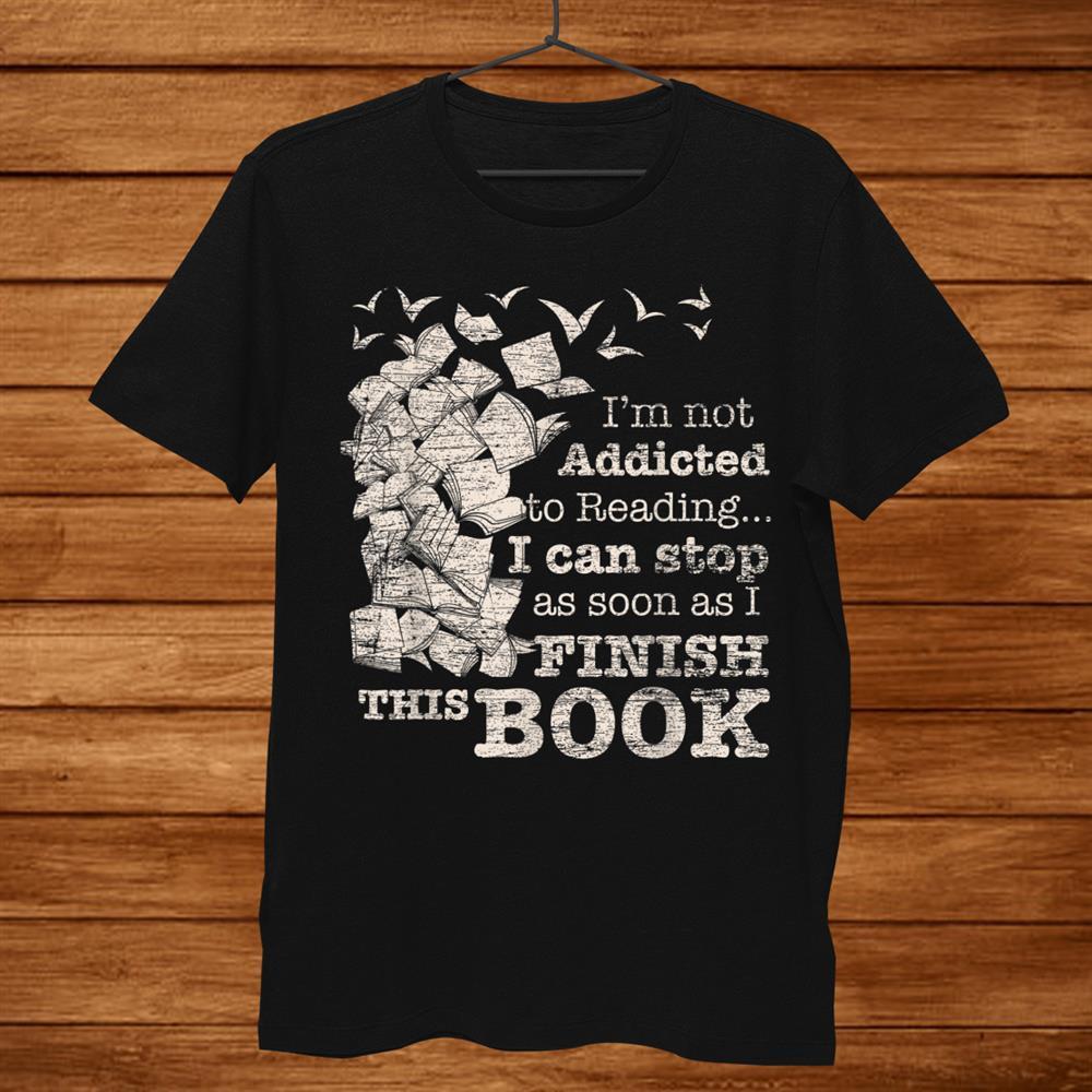 Reading Gifts Bookworm Librarian Reader Books Shirt