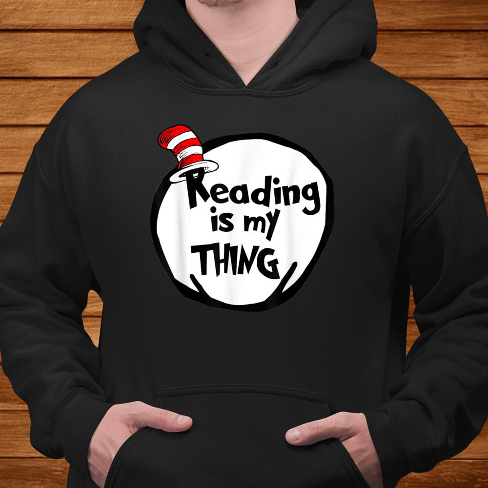 Reading Is My Thing Funny Bookworm Reading Lover Shirt