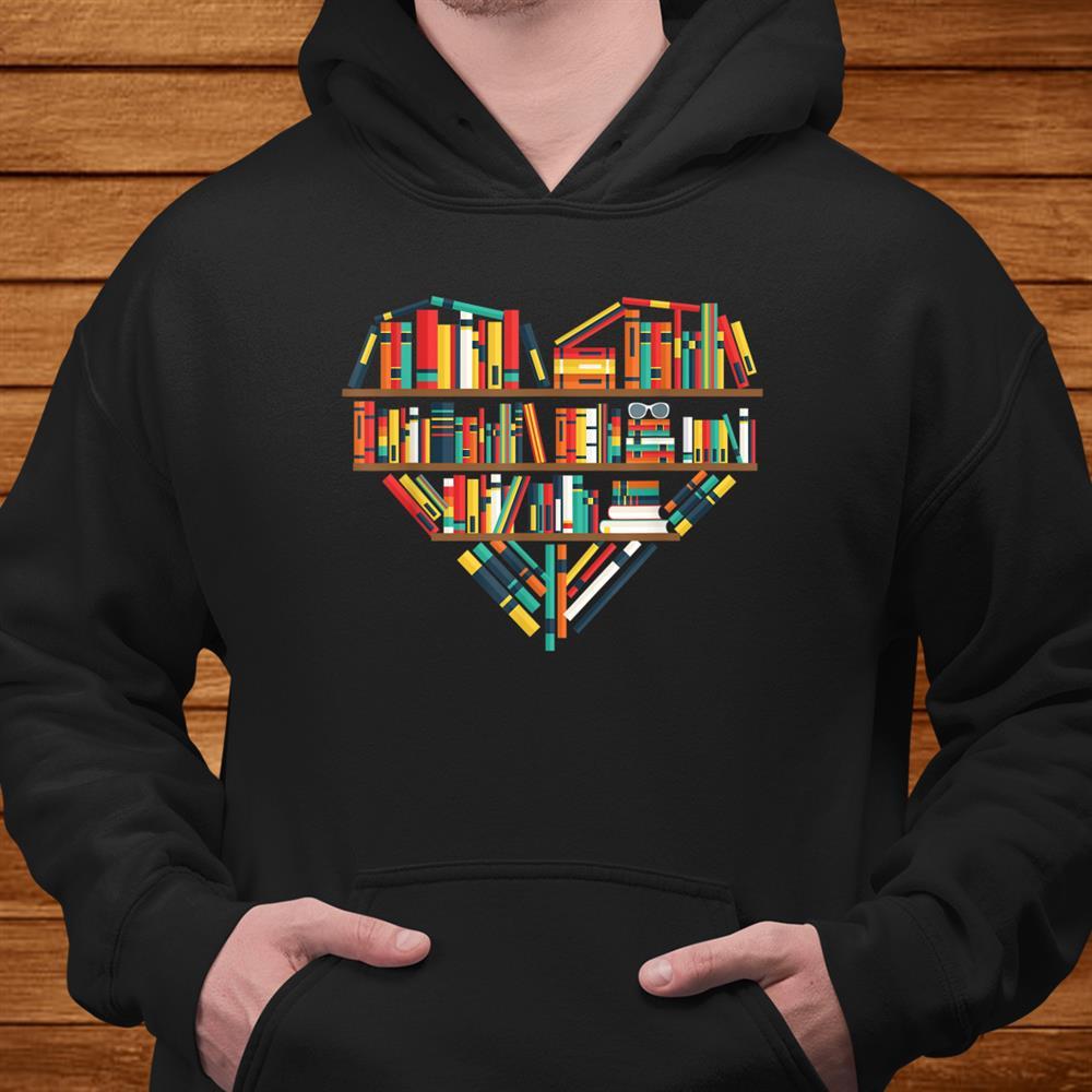 Reading Library Literature Read Books Lover Reader Shirt