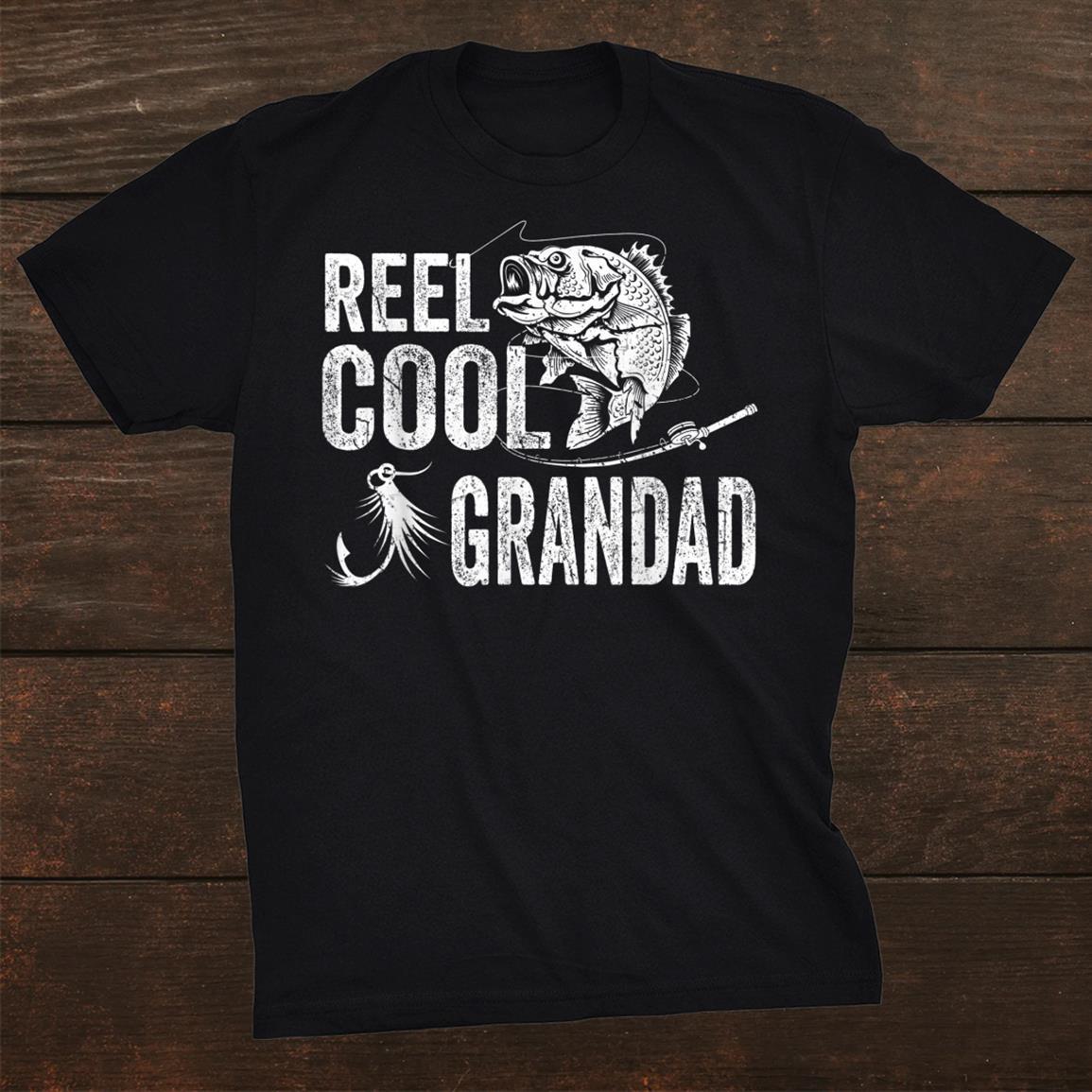 Reel Cool Grandad Shirt Fishing Shirt