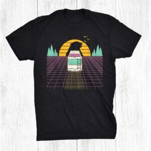 Retro Vaporwave Camping Van Shirt