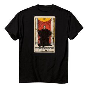 Rgb Ruth Bader Ginsburg Justice Tarot Card Funny Shirt