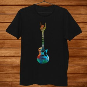 Rock Guitar Colorful Shirt Lover Music Shirt