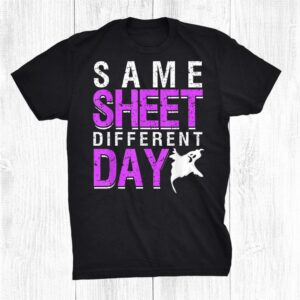 Same Sheet Different Day Ghost For Halloween Party Shirt