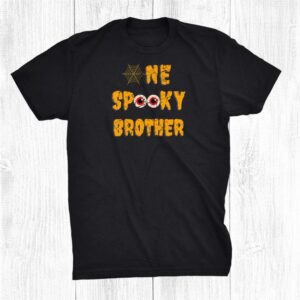 Scary One Spooky Brother Family Matching Funny Halloween Shirt