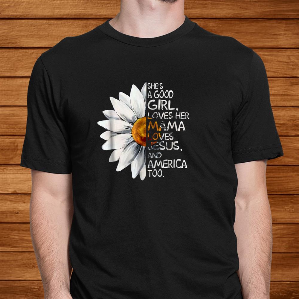 Shes A Good Girl Hippie Shirt