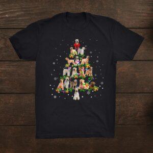Softcoated Wheaten Terrier Christmas Tree Xmas Shirt