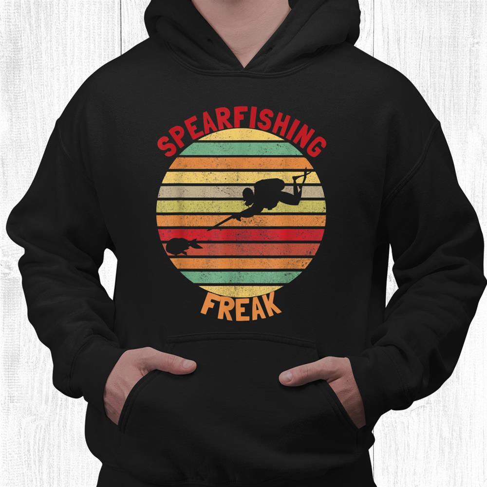 Spearfishing Wishbone Spearfishing Freak Spearfishing Funny Shirt