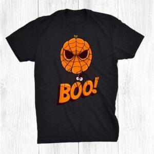 Spider Pumpkin Halloween Happy Halloween Spider Shirt