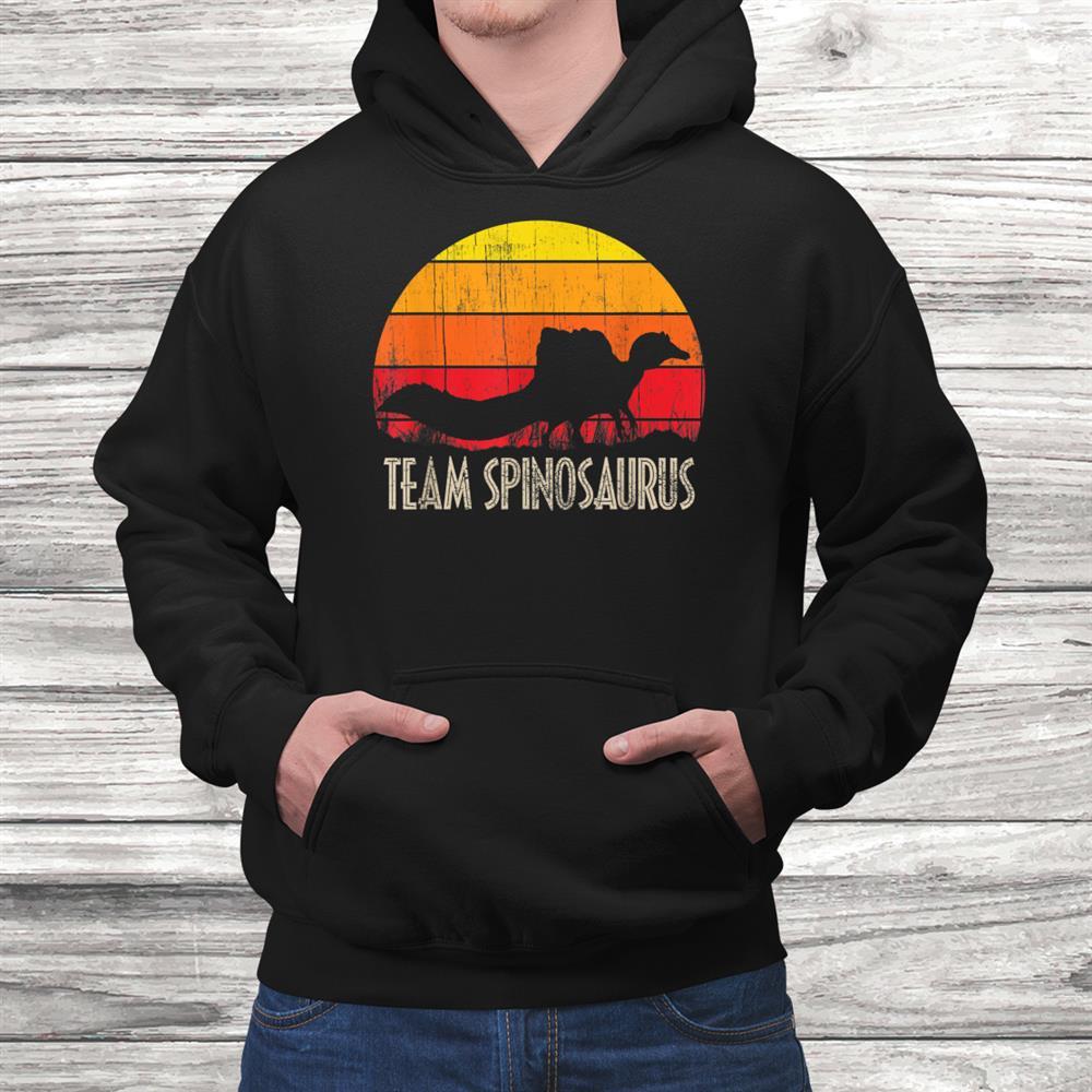 Spinosaurus Dinosaur Lover Paleontologist Shirt