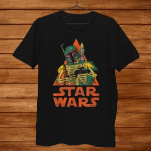Star Wars Boba Fett Skeleton Halloween Costume Shirt