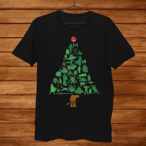 Star Wars Holiday Christmas Tree Shirt
