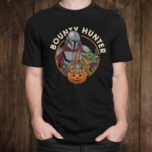 Star Wars The Mandalorian Halloween Candy Bounty Hunter Shirt