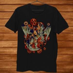 Steampunk Mechanical Dragon Shirt