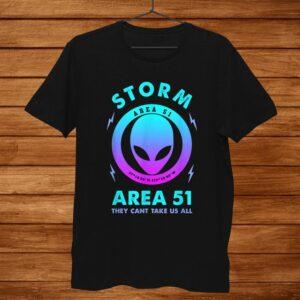 Storm Area1 Funny Alien Halloween Shirt