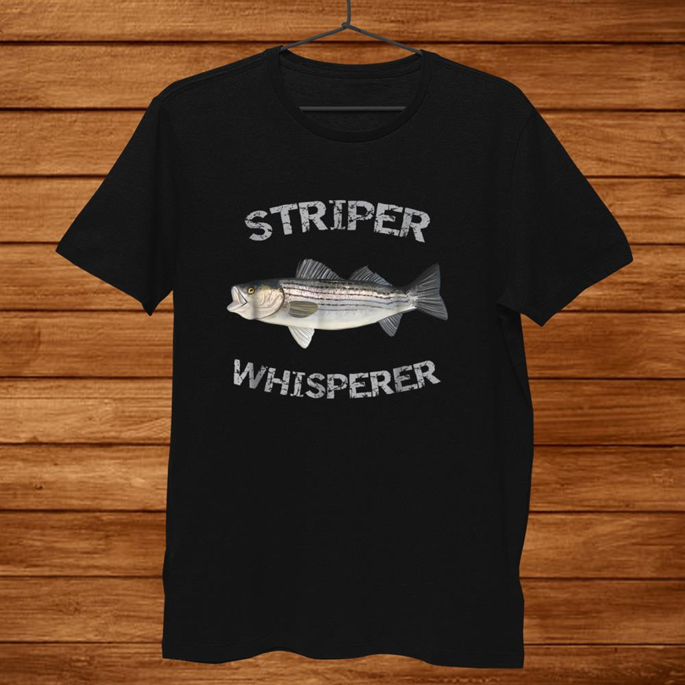 Striper Whisperer Striped Bass Shirt Striper Fishing Shirt
