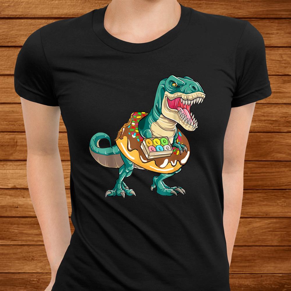 T Rex Donuts Dinosaur Shirt Gift Kids Shirt