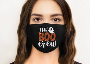The Boo Crew Face Mask