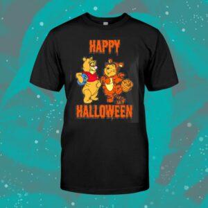 Tigger And Pooh Happy Halloween Shirt