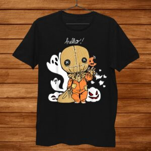 Trick R Treat Funny Cute Sam Halloween019 Costume Shirt
