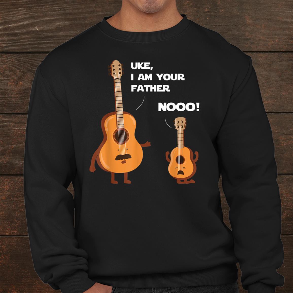 Uke I Am Your Father Funny Ukulele Guitar Music Guitaris Shirt