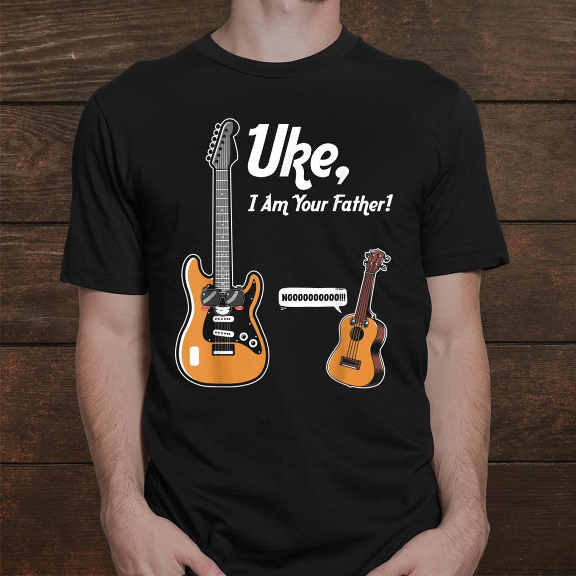 Uke I Am Your Father Funny Ukulele Player Guitar Music Shirt