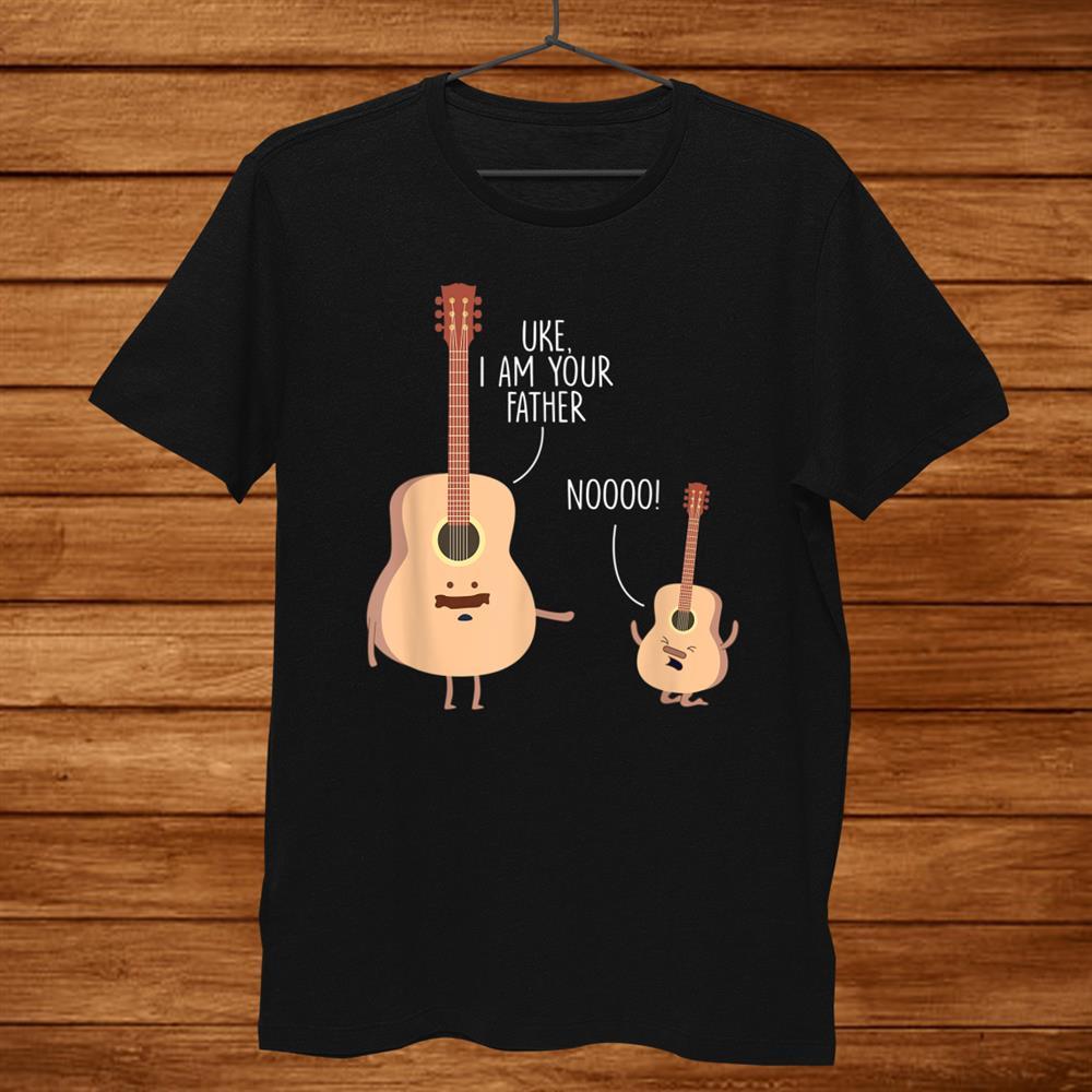 Uke I Am Your Father Ukulele Guitar Shirt