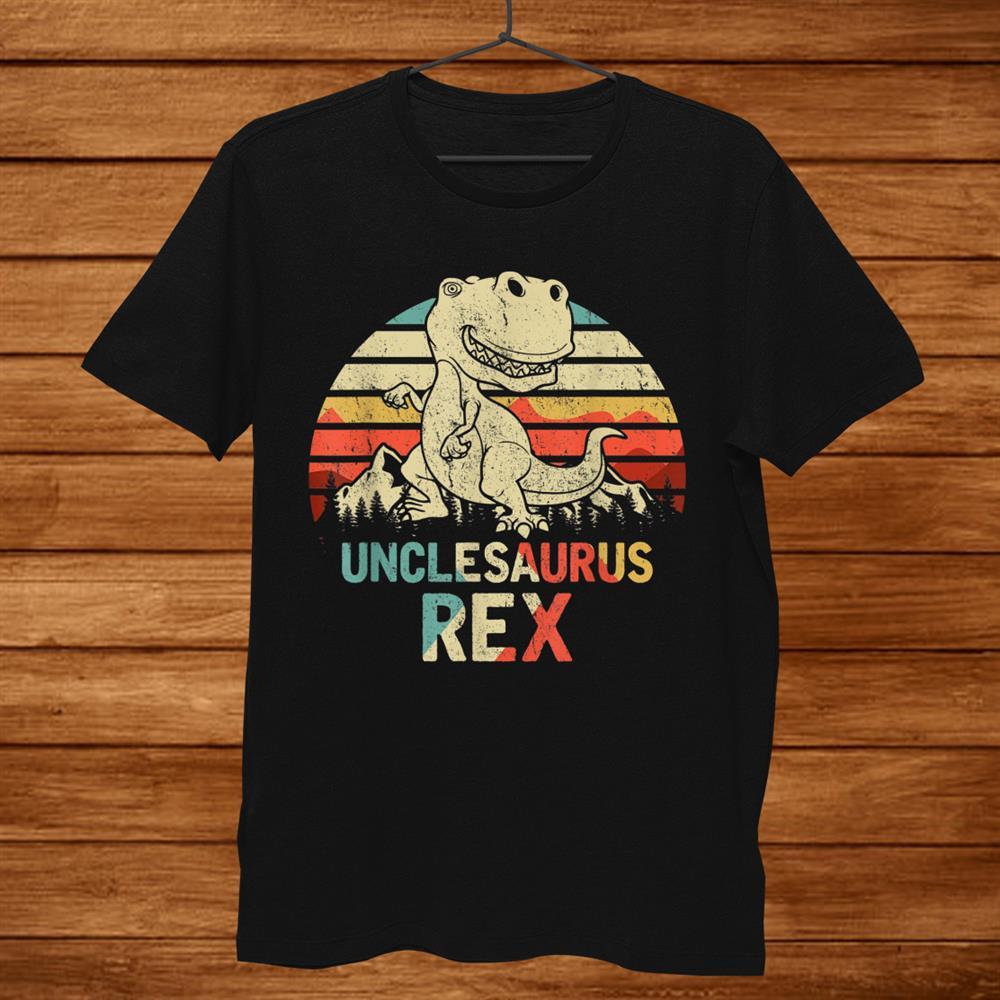 Unclesaurus Rex T-Shirt Dinosaur Men