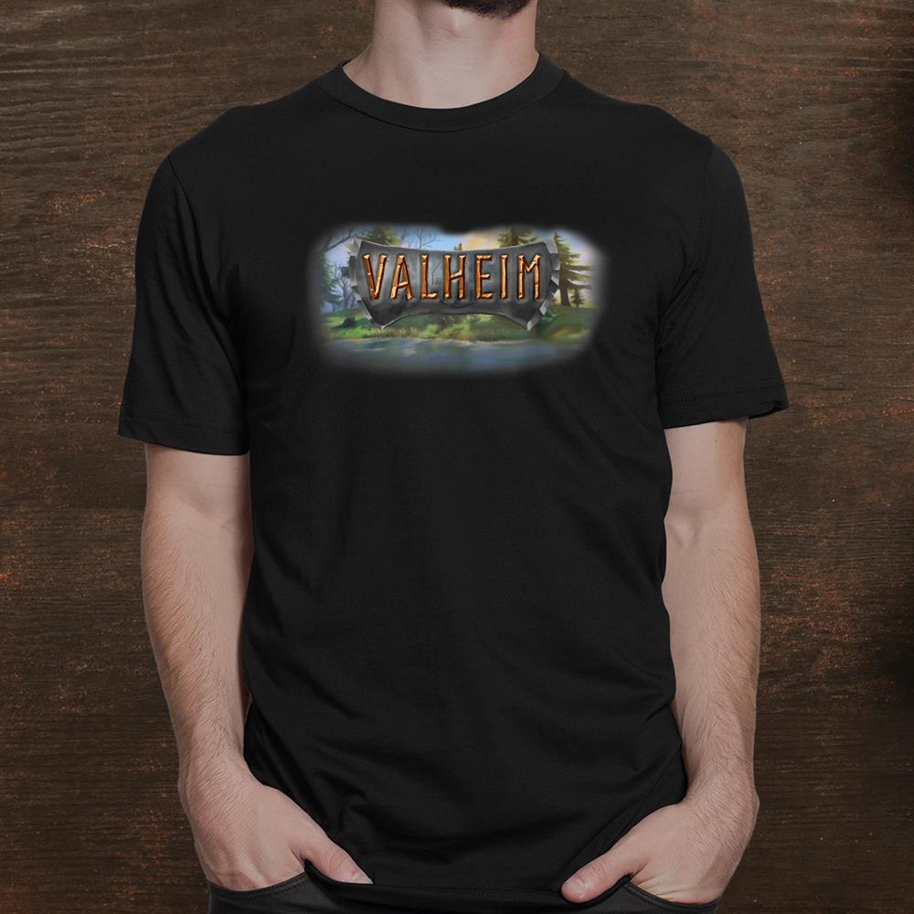 Val Heim Norse Runic Viking Culture Survival Gamer Shirt