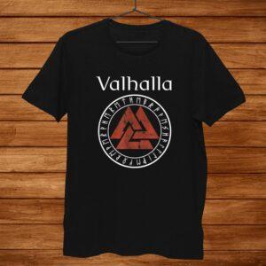 Valhalla Viking Odin The Nordic God Shirt