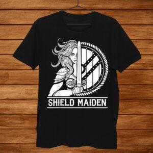 Viking Shield Maiden Female Warrior Shirt