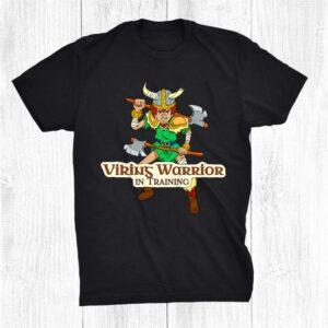 Viking Warrior Boy Viking Warrior In Training Shirt