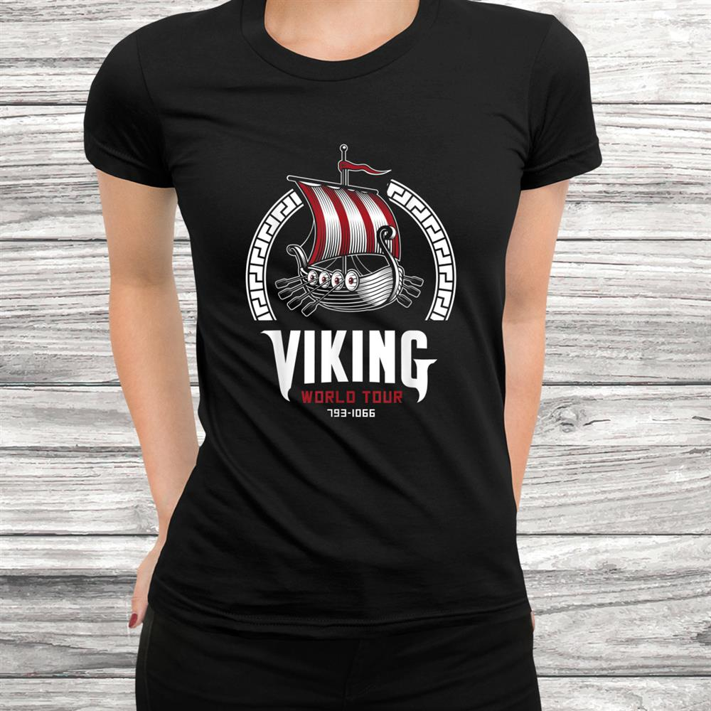 Viking Warrior Valhalla Nordic Odin Norse Vintage Vikings Shirt