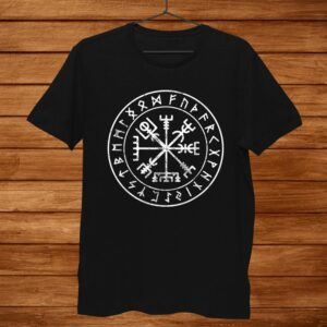 Vikings Compass Vegvisir Viking Symbol Shirt