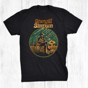 Vintage 70s Simpson Art Sturgills Love Guitar Musicial 2021 Shirt