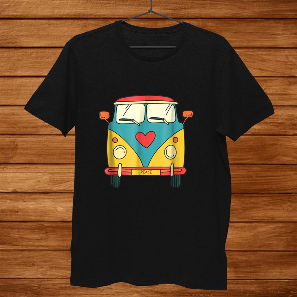 Vintage Hippie Bus Cute Van Shirt