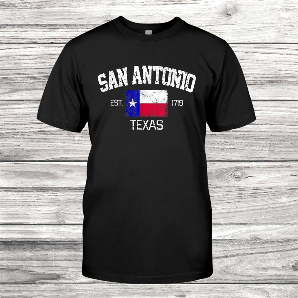 Vintage San Antonio Texas Est.718 Shirt