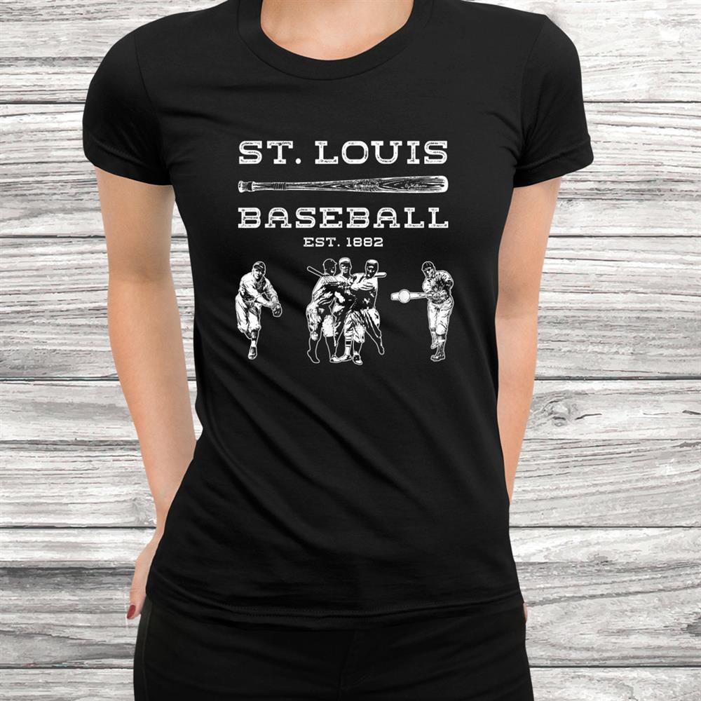 Vintage St. Louis Baseball Cardinal Retro Shirt