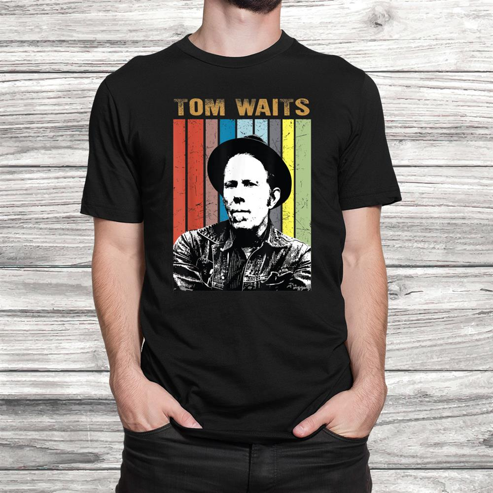Vintage Tom T-Shirt Waits Country Music Gift For Mens Shirt