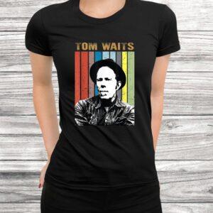 vintage tom t shirt waits country music gift for mens women t shirt Black 3