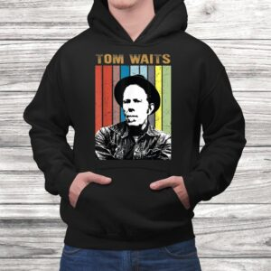vintage tom t shirt waits country music gift for mens women t shirt Black 4