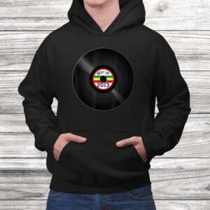 vinyl record best of 2013 retro vintage birthday gift t shirt Black 4